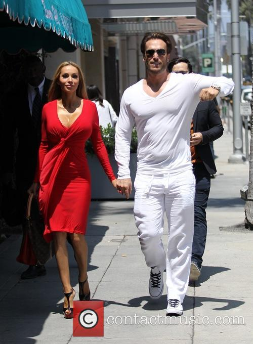 Bastian Yotta and his wife Maria Yotta out...