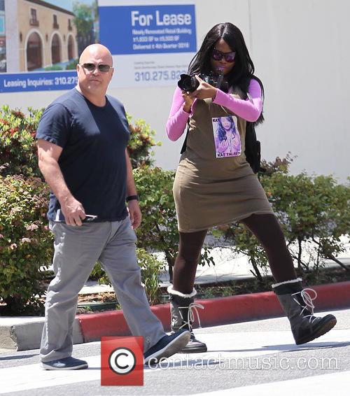 Michael Chiklis goes shopping in Beverly Hills
