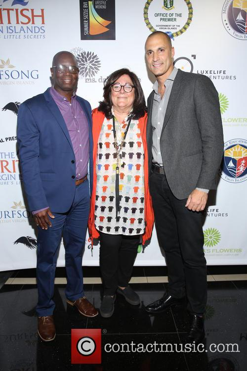 Terry Donovan, Fern Malis and Nigel Barker 1