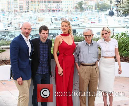 Corey Stoll, Jesse Eisenberg, Blake Lively and Kristen Stewart 2