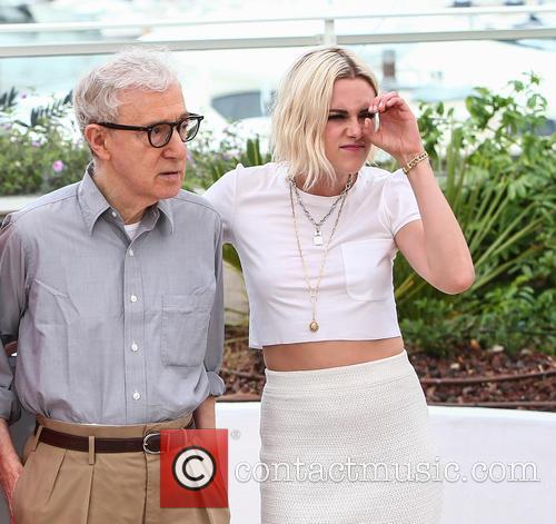 Kristen Stewart and Woody Allen 9