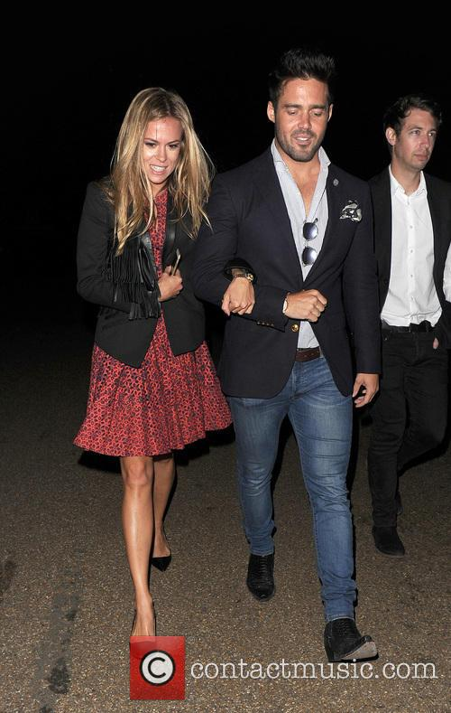 Spencer Matthews and Morgane Robart