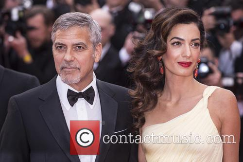 George Clooney and Amal Clooney at the 2016 Cannes Film Festival