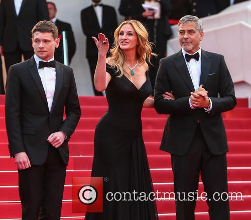 Julia Roberts, George Clooney and Jack O'connell 1