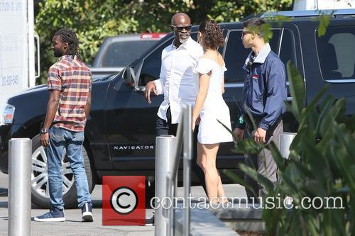 Paula Patton and Djimon Hounsou