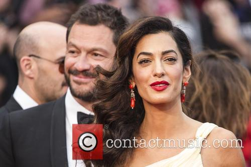 Domonic West and Amal Clooney 2