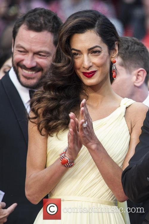 Domonic West and Amal Clooney 3