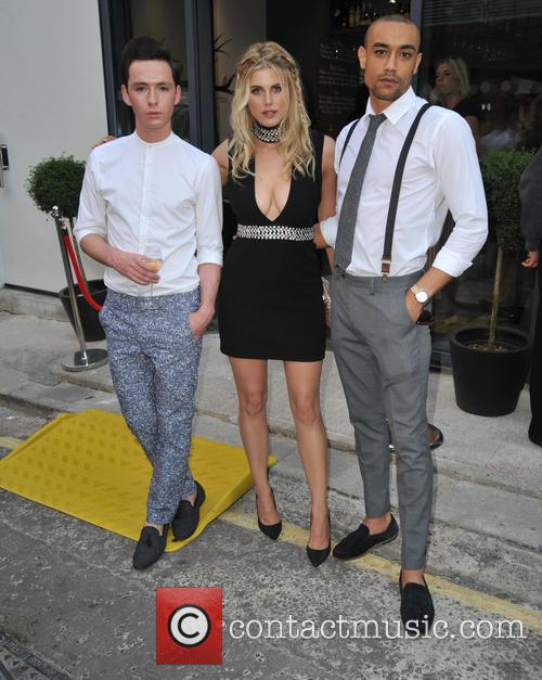Lorcan London, Ashley James and Scott Saunders 1