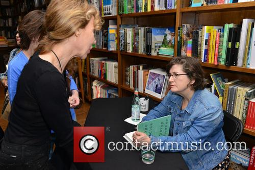 Betsy Lerner discusses and signs copies of her...