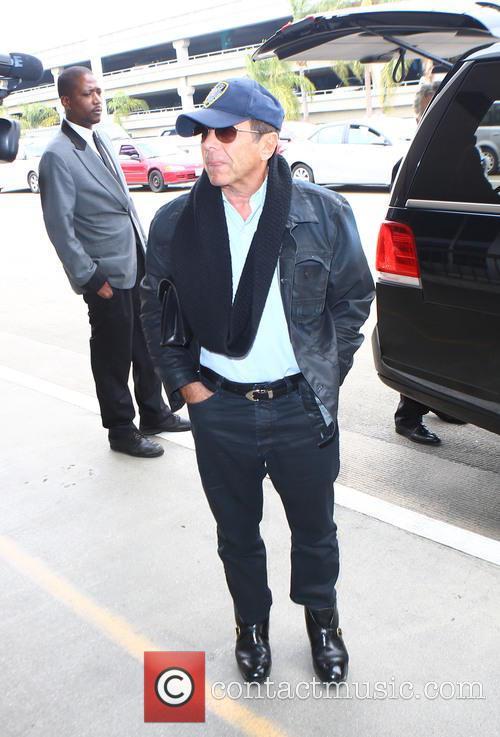 Paul Anka at LAX to catch a flight