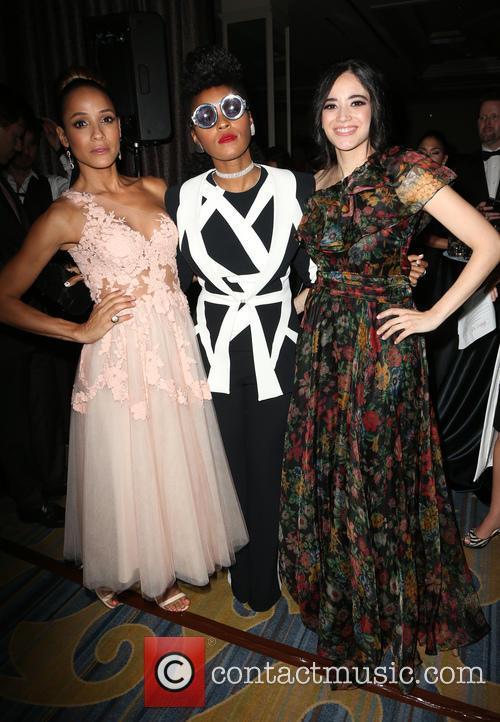 Dania Ramirez, Janelle Monae and Edy Ganem 1