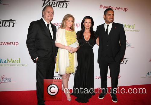 Richard Hilton, Kathy Hilton, Kyle Richards and Mauricio Umansky 2
