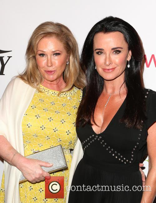 Kathy Hilton and Kyle Richards 6