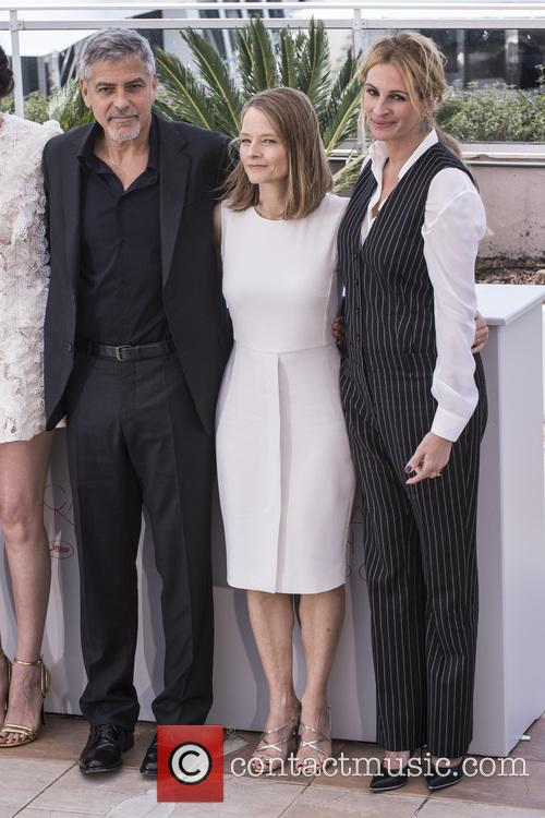 George Clooney, Jodie Foster and Julia Roberts 2