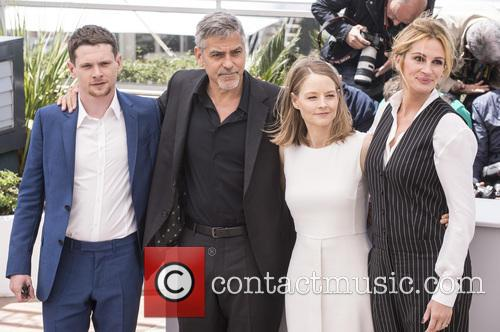 Jack O'connell, George Clooney, Jodie Foster and Julia Roberts 1