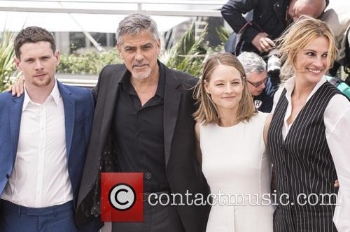 Jack O'connell, George Clooney, Jodie Foster and Julia Roberts 2