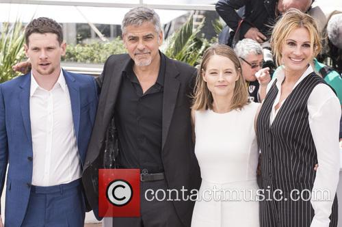 Jack O'connell, George Clooney, Jodie Foster and Julia Roberts 3