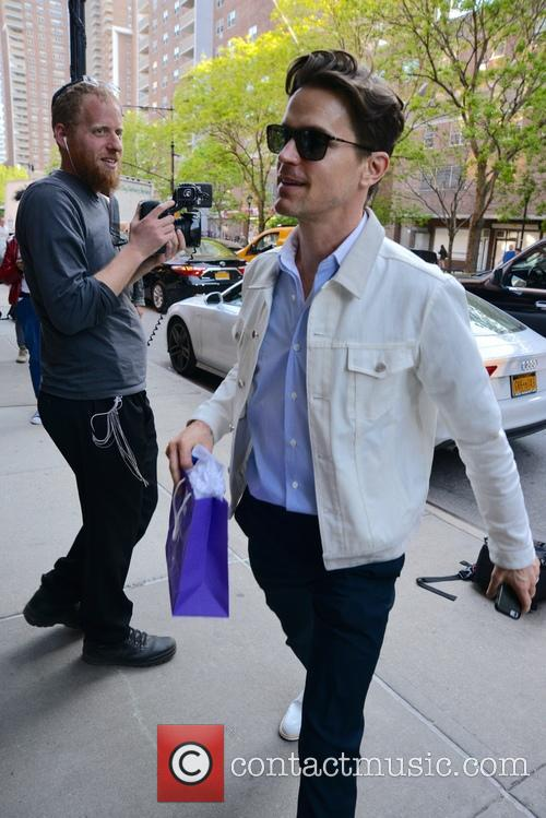Matt Bomer out and about in New York