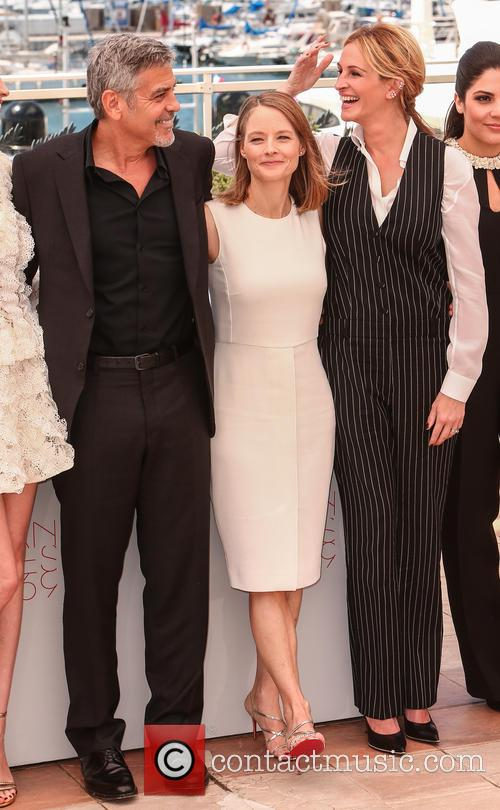 George Clooney, Julia Roberts and Jodie Foster 3