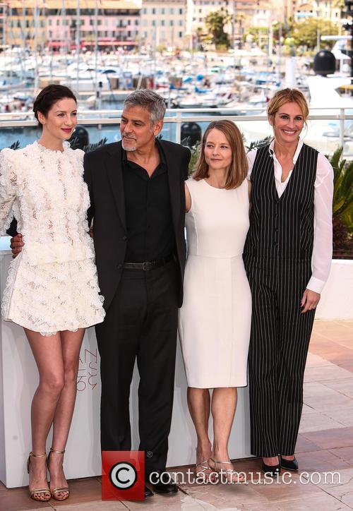 George Clooney, Julia Roberts, Jodie Foster and Caitriona Balfe 5