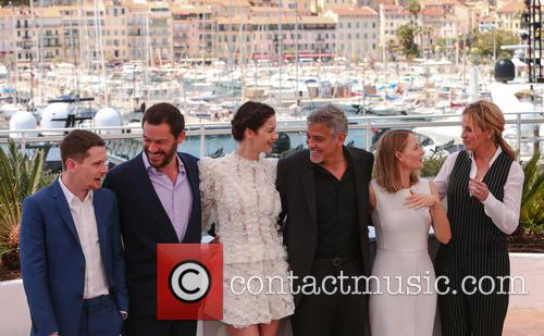 George Clooney, Julia Roberts, Jodie Foster, Dominic West, Jack O'connell and Caitriona Balfe