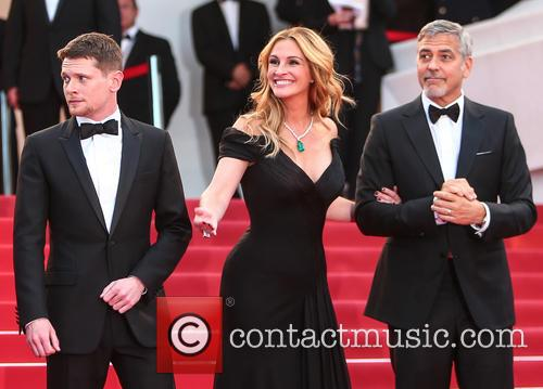 Jack O'connell, Julia Roberts and George Clooney 1