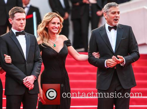 Jack O'connell, Julia Roberts and George Clooney 2