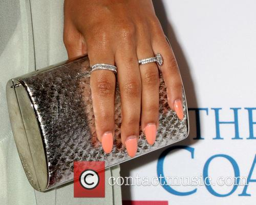 Grace Gealey With Engagement Ring 1