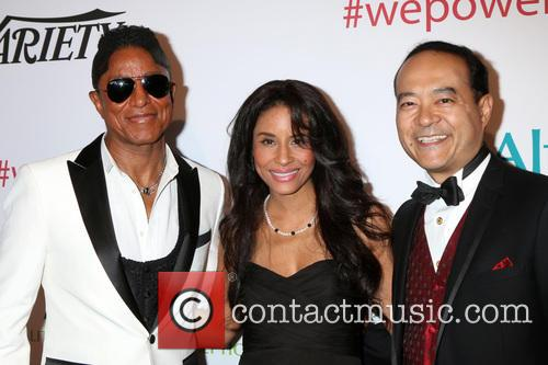 Jermaine Jackson, Halima Rashid and Guest 6