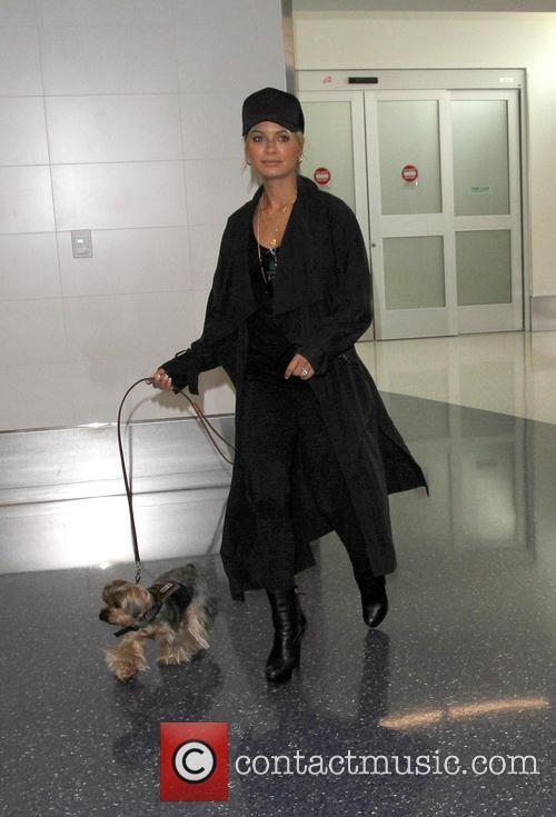 DJ Havana Brown arrives at Los Angeles International...