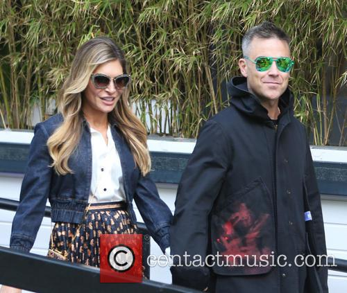 Robbie Williams and Ayda Field 5