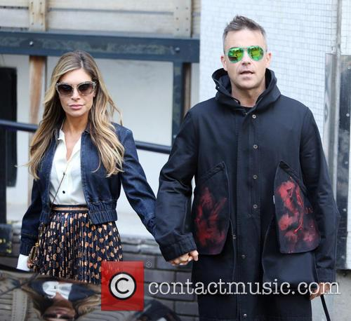 Robbie Williams and Ayda Field 8