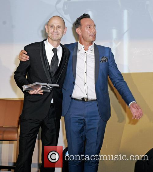 Evan Davis and Craig Revel Horwood 2