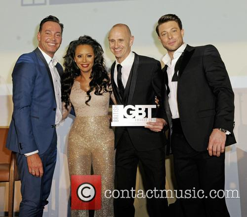 Craig Revel Horwood, Melanie B, Evan Davis and Duncan James 3