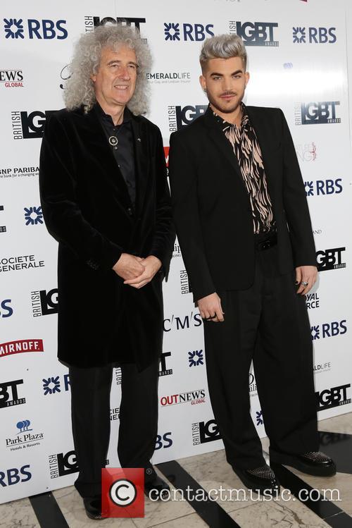 Brian May and Adam Lambert 1