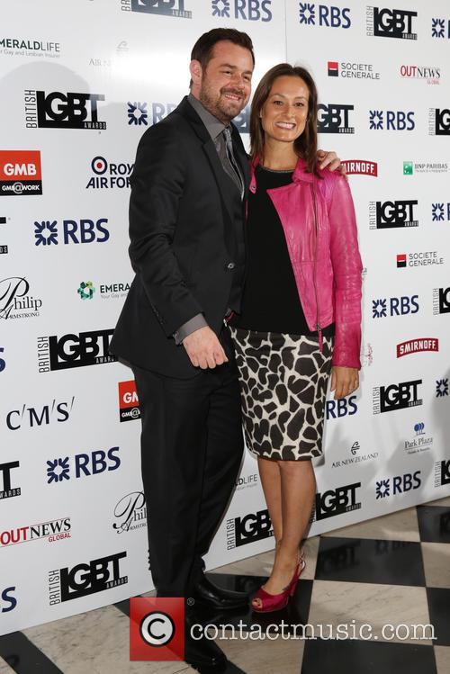 Danny Dyer and Luisa Bradshaw-white 2