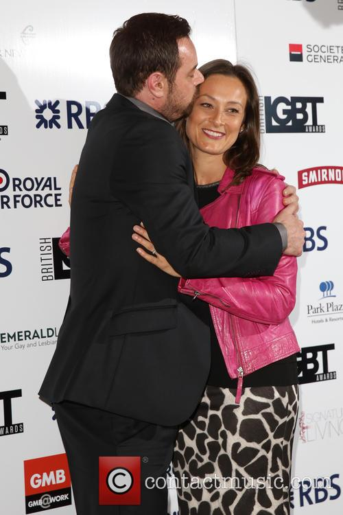 Danny Dyer and Luisa Bradshaw-white 4
