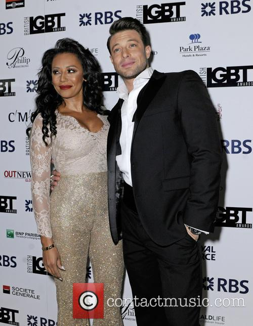 Mel B and Duncan James 6