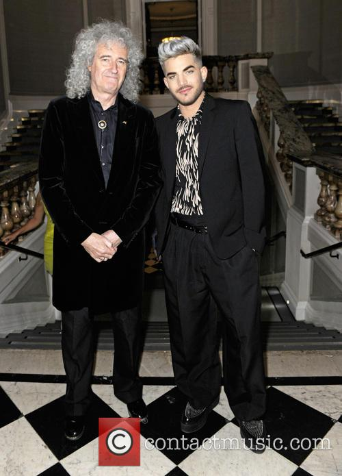 Brian May and Adam Lambert 2
