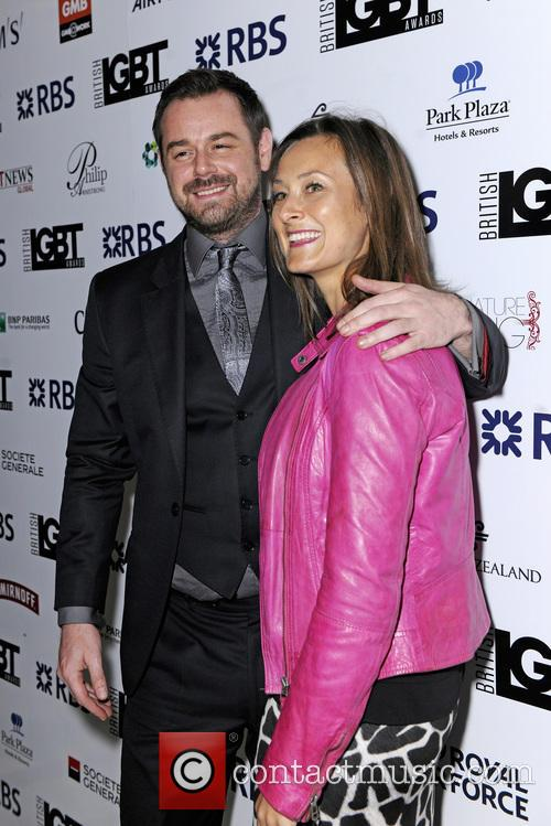 Luisa Bradshaw-white and Danny Dyer 5