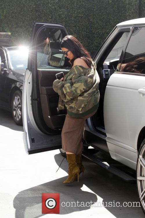 Kim Kardashian leaves Epione Skin Clinic in Beverly...