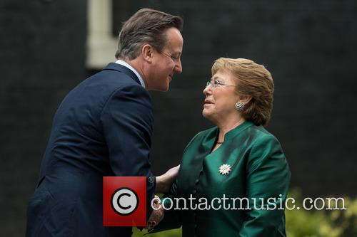 David Cameron and Michelle Bachelet 5