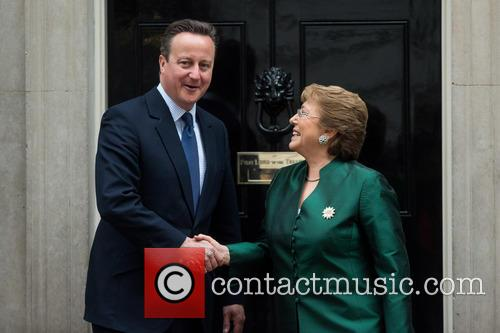 David Cameron and Michelle Bachelet 6