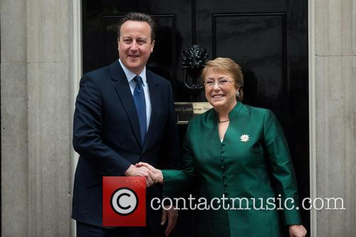 David Cameron and Michelle Bachelet