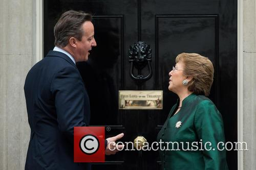 David Cameron and Michelle Bachelet 8