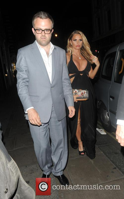 Katie Price heads to The Groucho Club in...