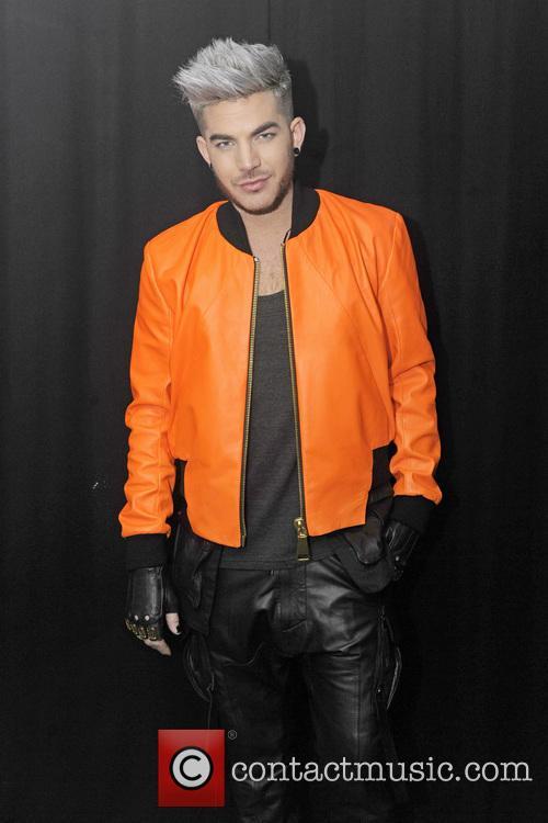 Adam Lambert performing live at G-A-Y London