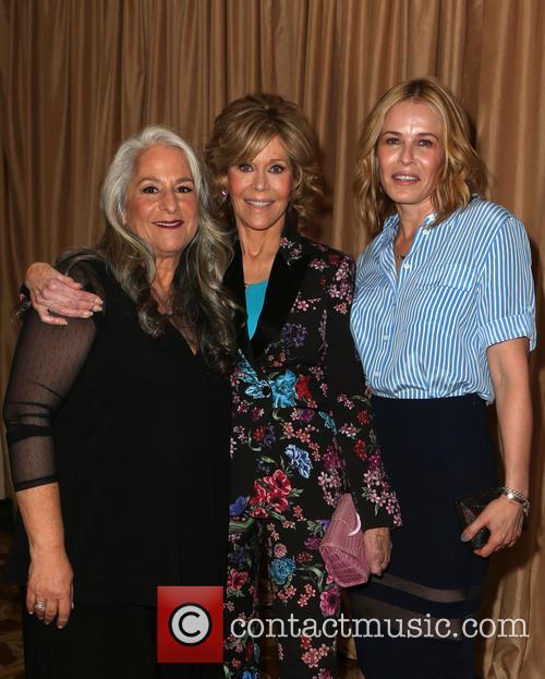 Marta Kauffman, Jane Fonda and Chelsea Handler 1