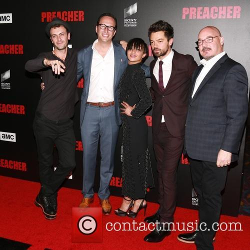 Joseph Gilgun, Ruth Negga and Dominic Cooper 1