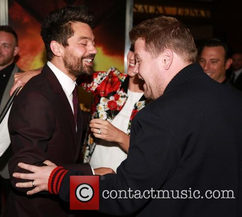Dominic Cooper and James Corden